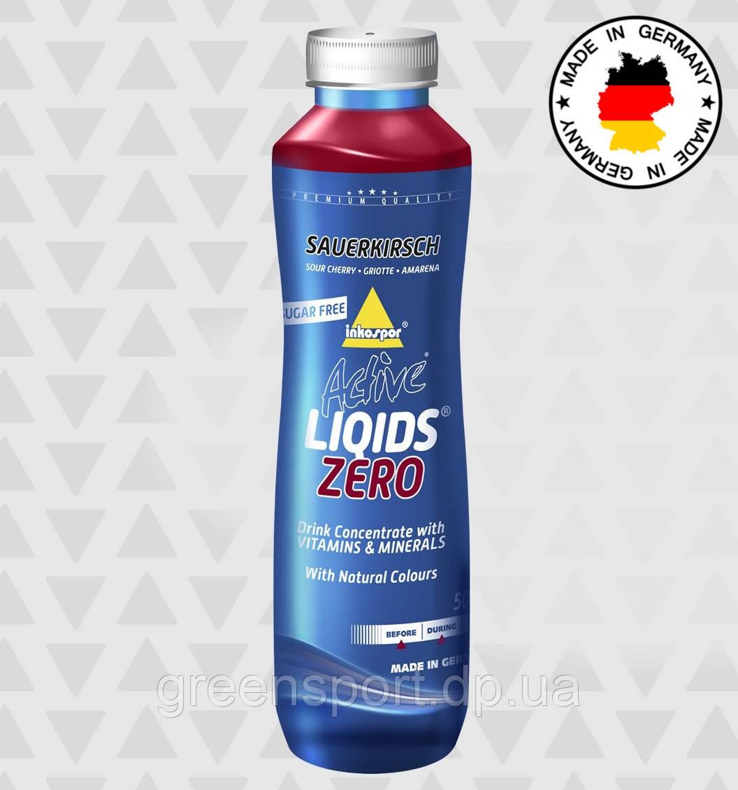 Изотоник Inkospor Active Liqids Zero (500 мл) Вишня