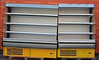 Холодильний регал «Росс Modena» лінія 3.35 м. (Україна), LED - підсвічування, Б/в, фото 1