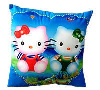 Подушка котики с изображением героев из известного мультфильма Хеллоу Китти , Украина 24970