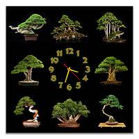 Часы настенные фотопечать 90х90 см