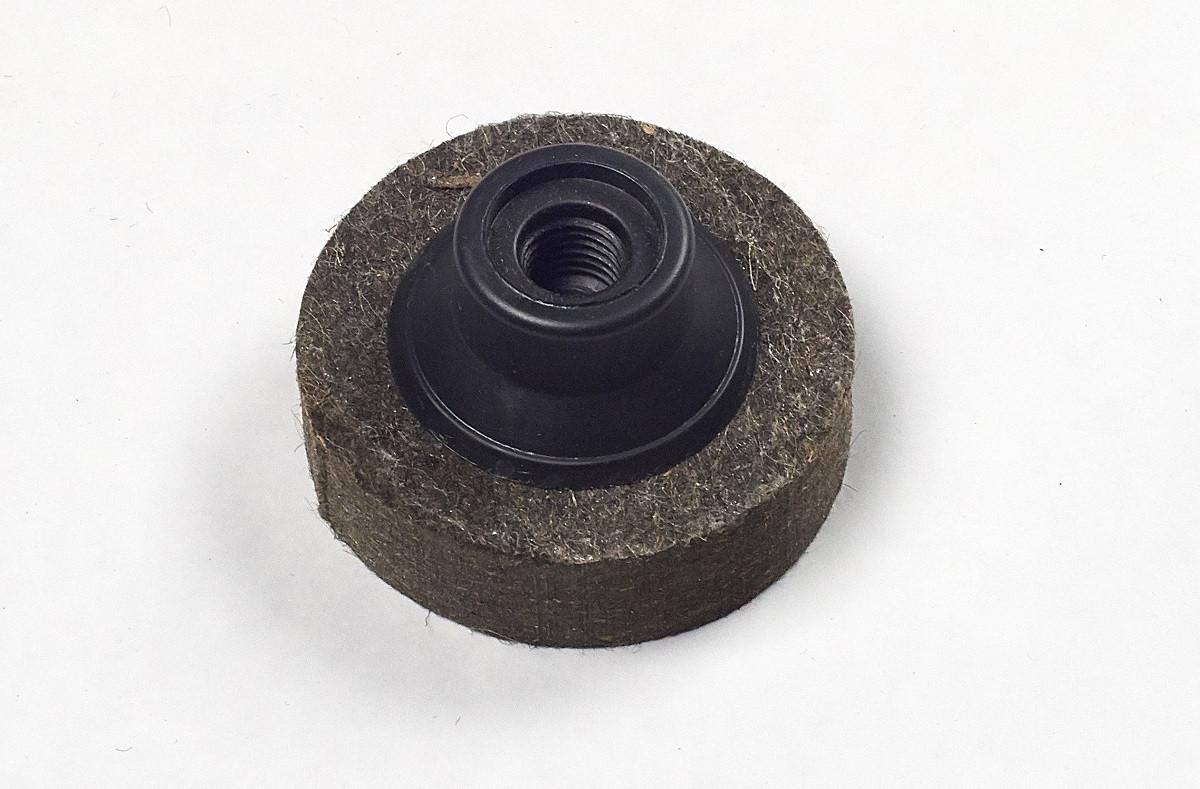 Коло повстяний а.т.т. для КШМ Ø 100мм*25мм*М14