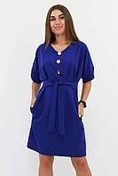 M | Жіноче вільне класичне плаття Monika, синій