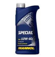 Моторное масло полусинтетическое Mannol Special 10W40 1л.