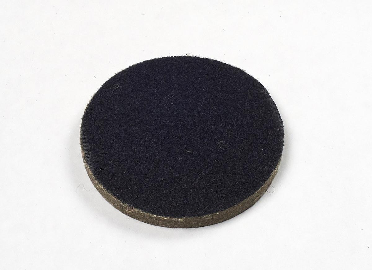 Круг войлочный а.т.т..  на липучке для УШМ d 125мм (6396011)