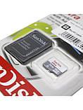 Карта памяти 32 GB microSD SanDisk Ultra UHS-I с адаптером (SDSQUNS-032G-GN3MA), фото 3