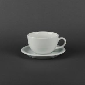 Чайная чашка 250 мл+блюдце Lubiana Ameryka Horeca (104,112)