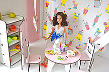 Уютная Вилла Барби с мебелью, обоями и текстилем, фото 2