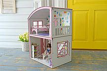 Уютная Вилла Барби с мебелью, обоями и текстилем, фото 3