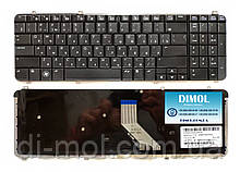 Оригінальна клавіатура для ноутбука HP Pavilion dv6-1000, dv6-2000, dv6t-1000, dv6t-2300, rus, black