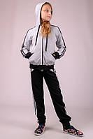 Спортивный костюм трикотаж для девочки Украина. 122-146 рост, фото 1