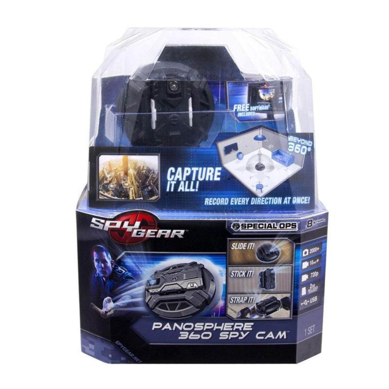 Супер подарок камера Spy Gear Panosphere 360 Spy Cam Оригинал