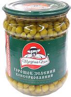 Зелённый горошек 500 грамм ТМ Щедрый Пан