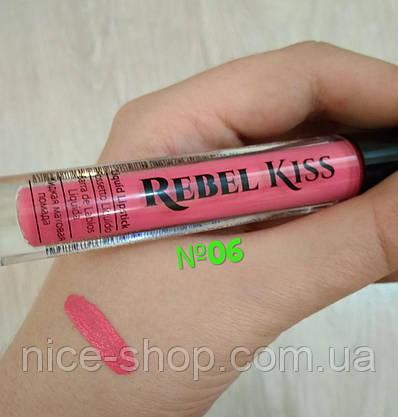 Матовая помада Rebel Kiss  №06, фото 2