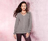 Красивенный вязаный блестящий свитер от тсм tchibo (чибо), германия, размер укр 46-50