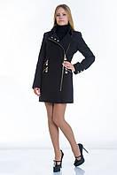 Пальто №7 черный р. 46