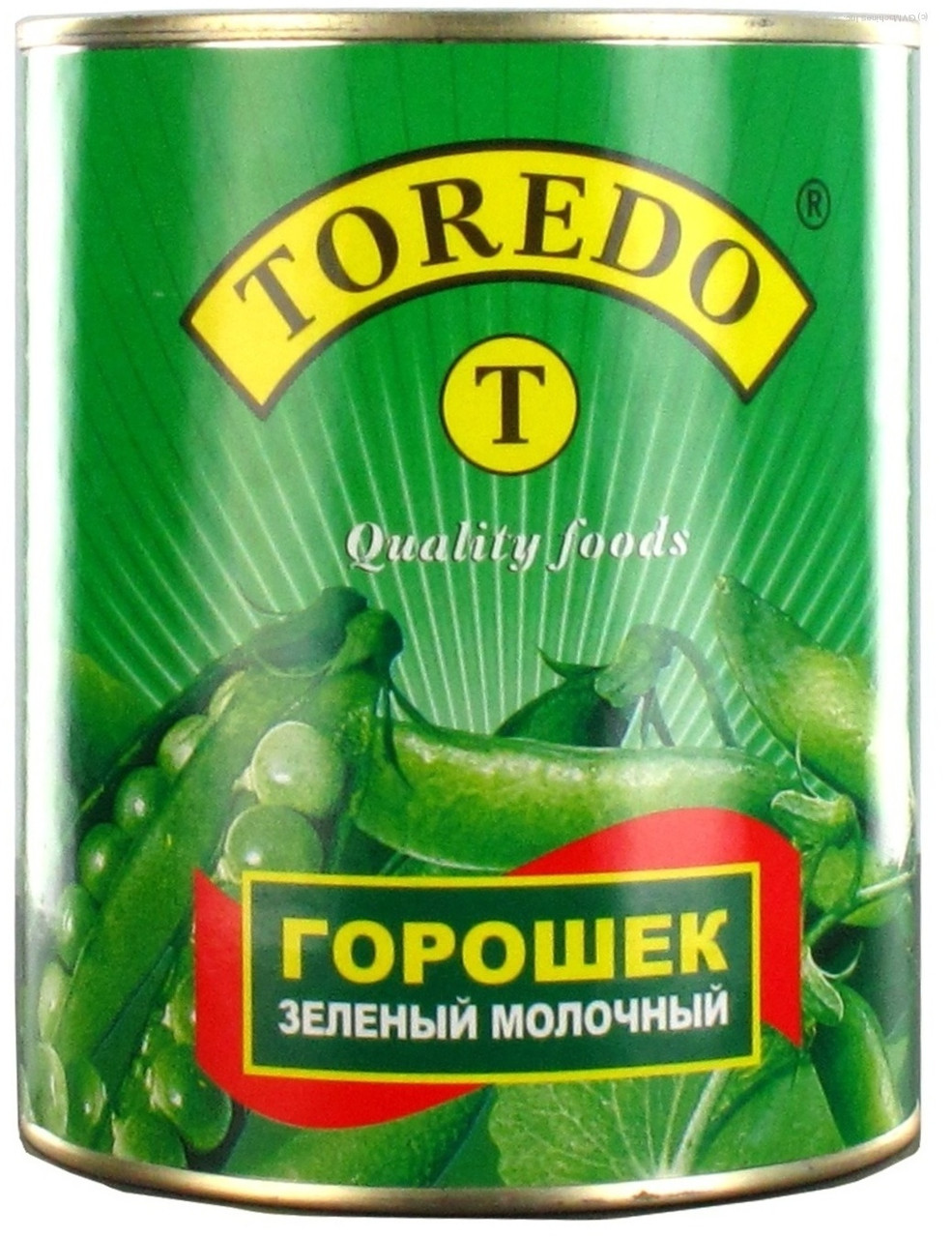 Зелённый горошек 425 грамм ТМ TOREDO
