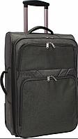 Чемодан дорожный ручная кладь Bagland Леон 51 л. средний дизайн хаки, валізи, фото 1