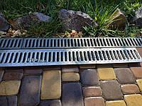 Решетка водоприемная GIDROLICA РВ -10.13,6.100- штампованная стальная оцинкованная