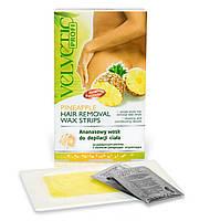 VELVETIC Полоски для депиляции тела ананас