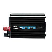 Преобразователь UKC авто инвертор 12V-220V 300W, фото 1