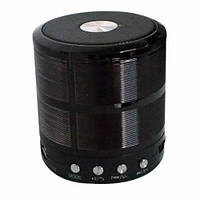 Портативная bluetooth колонка MP3 WS-887 Black, фото 1
