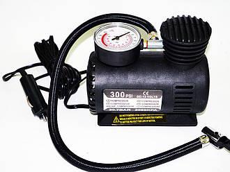 Портативный автомобильный мини воздушный компрессор (DC 12V/10 ~ 250PSI)