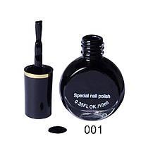 Лак-краска для стемпинга черная 10 мл