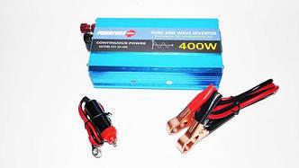 Преобразователь напряжения инвертор Powerone 12- 220V 400W - чистая синусоида