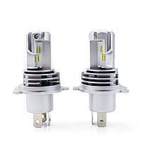 Светодиодные авто лампы  головного света нового поколения H4 Philips-ZES 10000Lm 60Watt
