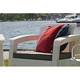 Corfu Duo Set садові меблі з штучного ротанга, фото 9