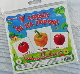 Маленький геній Картки міні: У садку та на городі 1017-1/13107003У Ранок Україна