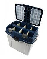 Органайзер, контейнер, ящик, для зимней рыбалки Aquatech 2870 ремень для транспортировки (К)