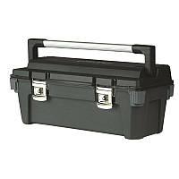 Ящик инструментальный 65,1 x 27,6 x 26,9см метал.замок, ручка    STANLEY 1-92-258