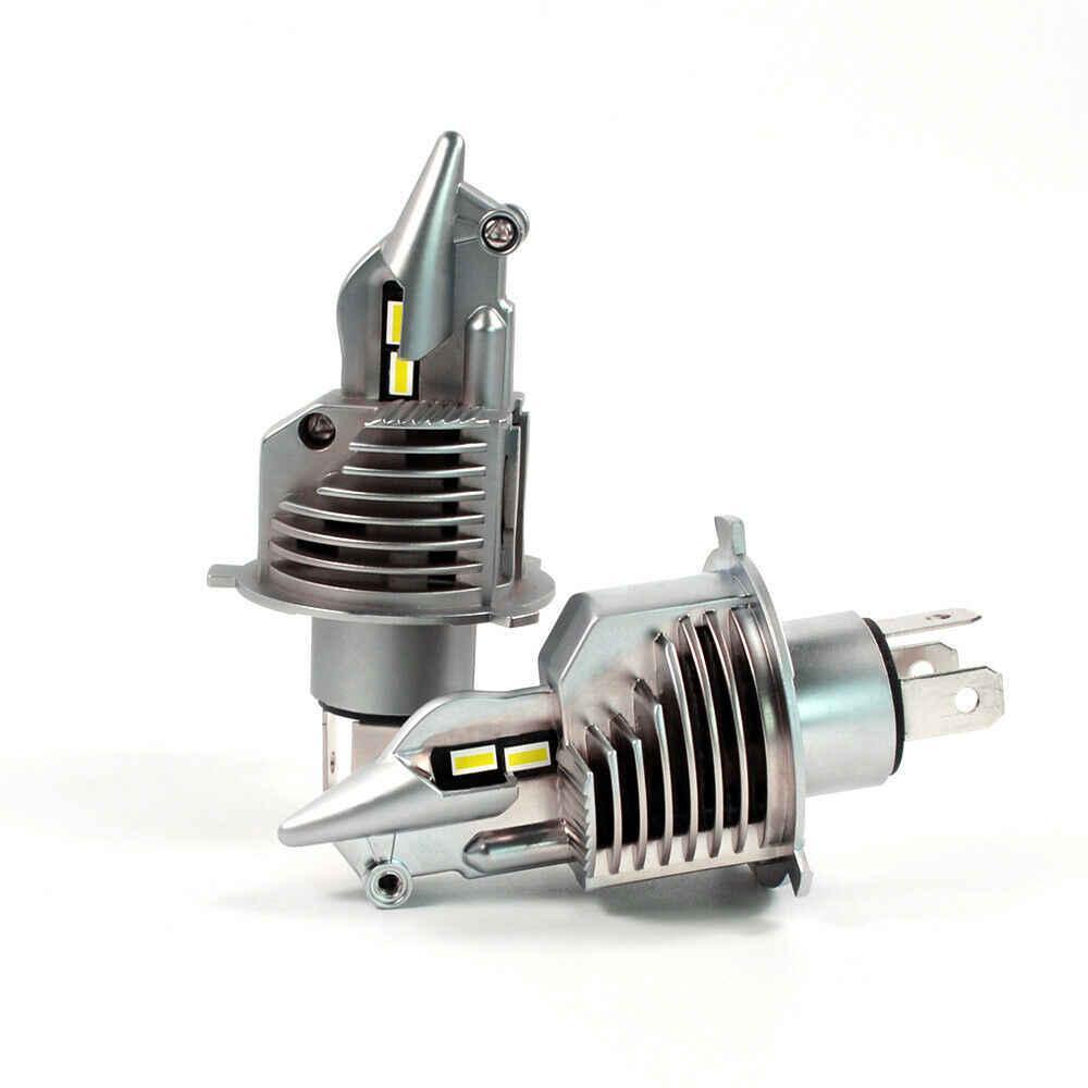 Светодиодные авто лампы LED головного света нового поколения Н4 Philips ZES Terminator 11600Lm 70Watt