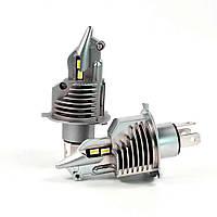 Светодиодные авто лампы LED головного света нового поколения Н4 Philips ZES Terminator 11600Lm 70Watt, фото 1