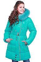 Детское зимнее пальто с мехом  , фото 1