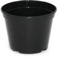 Горшок 10 черный V-0,39 d-10,0 h-7,1