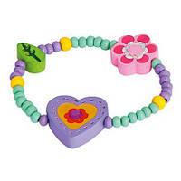 Браслет Сердце фиолетовое, Bino. BINO (9989043)