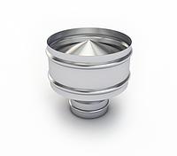 Дефлектор вентиляционный d=100 круглый оцинкованный