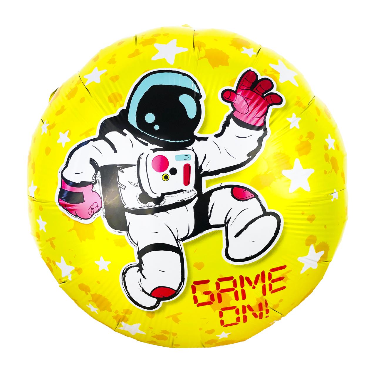 Фольгированный шар 18' Китай Космонавт, 45 см