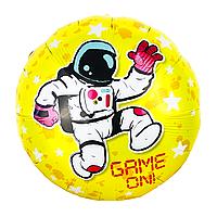 Фольгированный шар Космонавт Китай, 45 см (18'')