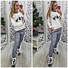 Женская пижама интерлок LA-0567