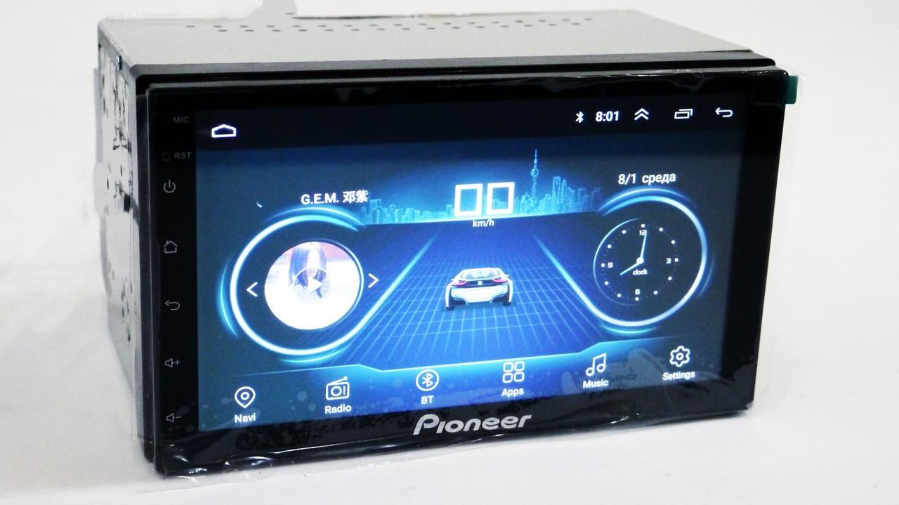 2din Pioneer 4S GPS+4Ядра+16Gb ROM+1Gb RAM+Adnroid