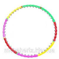 Массажный обруч Хула Хуп hula hoop 8 секций 0251, фото 1