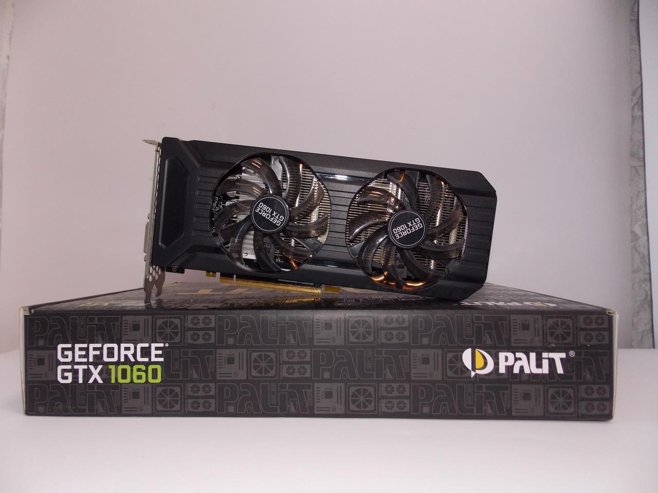 Видеокарта Palit GTX1060 (3GB/GDDR5/192bit) NE51060015F9-1061F БУ