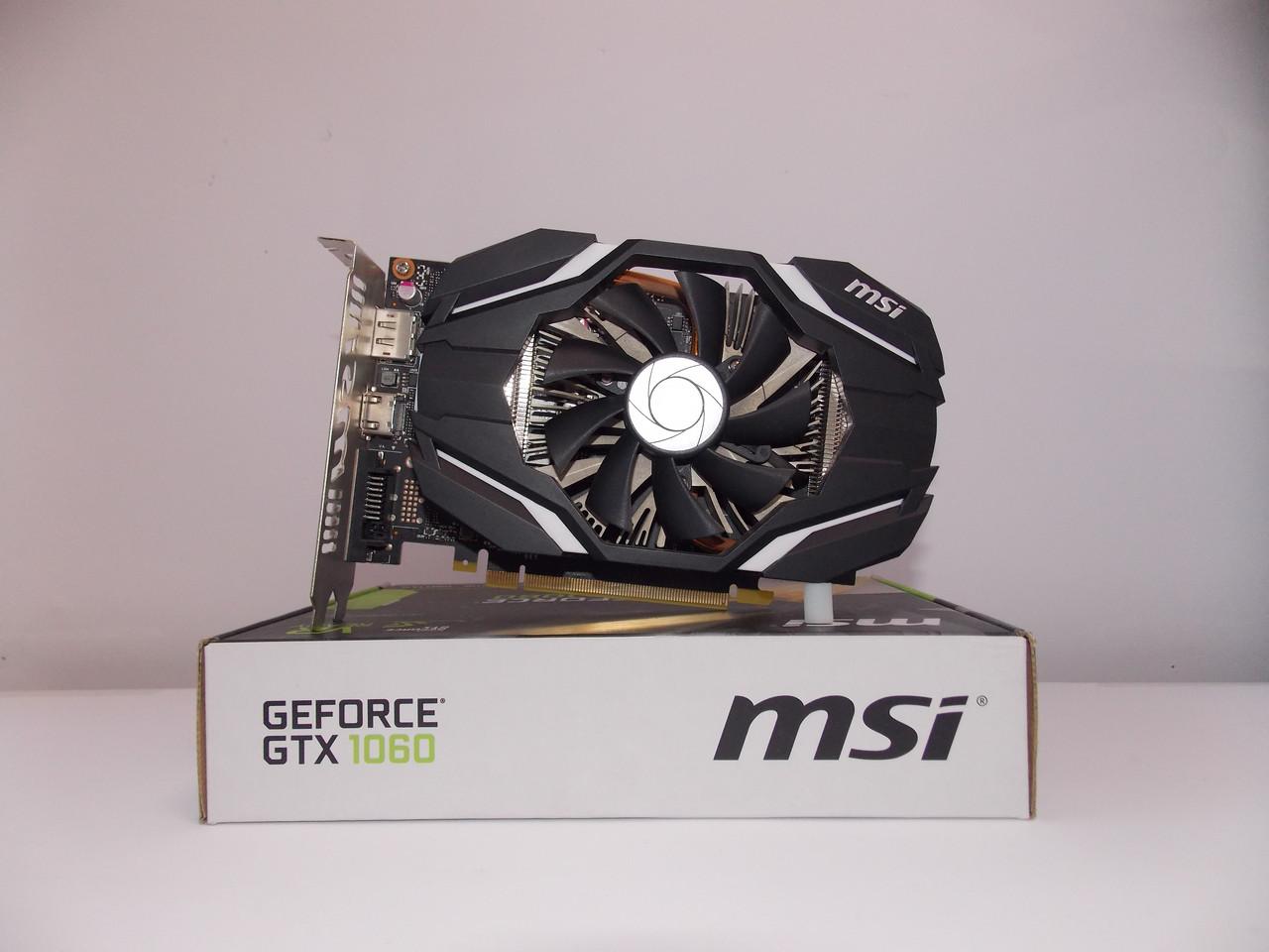 Видеокарта MSI GTX1060 (3GB/GDDR5/192bit) GTX 1060 3G OCV БУ
