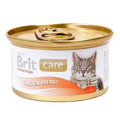 Консервы Brit Care Cat Chicken Breast 80 г (куриная грудка)
