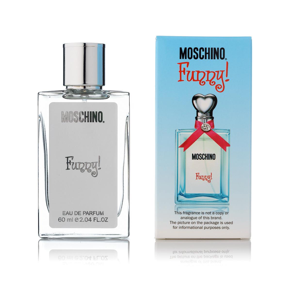 60 мл мини парфюм Moschino Funny - (Ж)