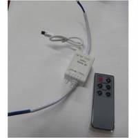 Диммер для LED ленты 12V, 6A, с инфракрасным пультом управления (IR6А-T1)