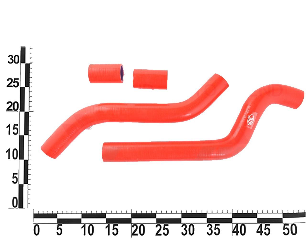 Патрубок радиатора 2108-21099 силиконовый